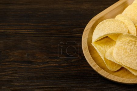 salzige leckere Kartoffelchips