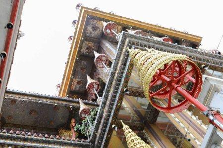 Wat Lat Phrao located at Ladprao Wanghin Rd, Khwaeng Lat Phrao, Khet Lat Phrao,Bangkok Thailand
