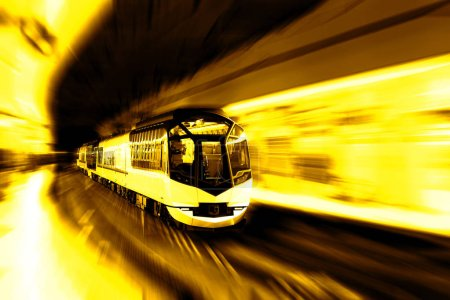 transportation concept : high speed train