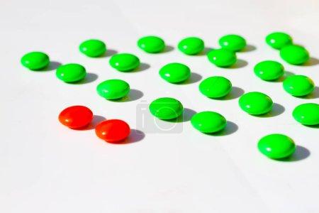 Photo pour Concept d'affaires Leadership concept individualité des différences - image libre de droit