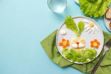 Photo pour Gros plan de savoureux petit déjeuner pour les enfants - image libre de droit