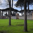 The palestra or Gladiator's training ground in the...