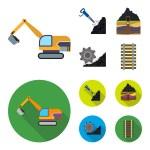Excavator, tunnel, elevator, coal harvester and ot...