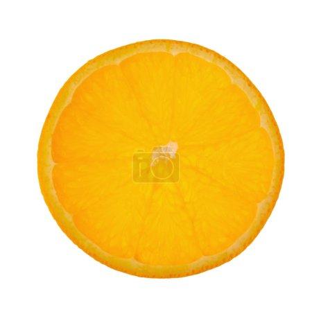 Photo pour Fruits orange. Tranche de orang isoler sur fond blanc. - image libre de droit