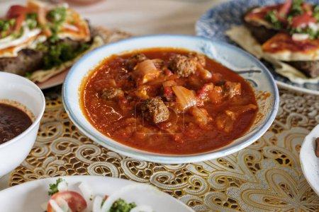 Tajine Kofta dish in Ramadan ending feast