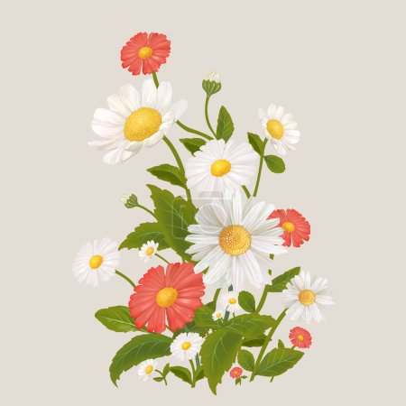 Photo for Beautiful floral border design - Royalty Free Image