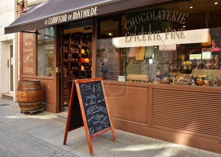 Photo pour Café restaurant dans la ville européenne - image libre de droit