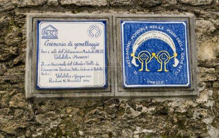 Photo pour Bâtiment UNESCO dans la ville européenne - image libre de droit