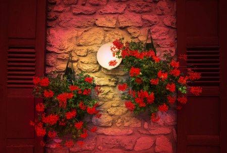 Foto de House close up. French style decoration. - Imagen libre de derechos