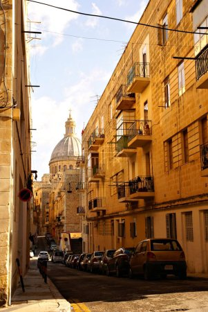 Photo pour Vue sur la vieille ville européenne - image libre de droit