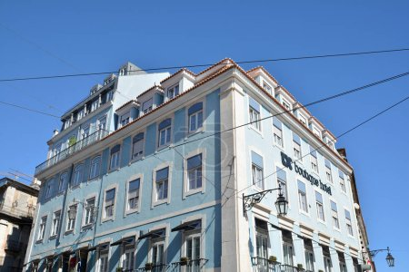 Photo for Historical architecture in Lisbon, Portugal - Royalty Free Image