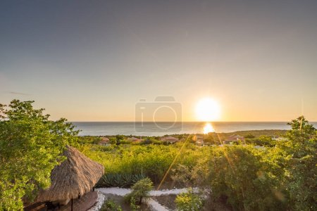 Photo for Beautiful sunset on the beach - Royalty Free Image