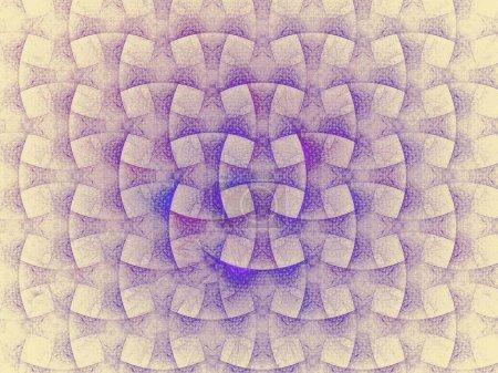 Photo pour Fond abstrait de formes et de lignes géométriques - image libre de droit