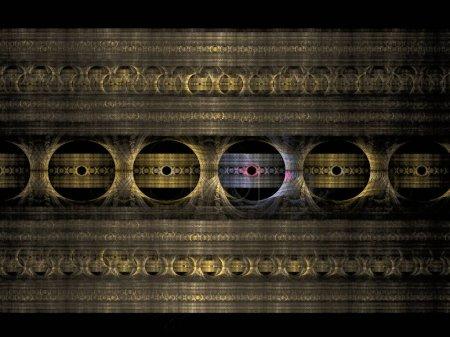 Photo pour La vieille porte en bois de style chinois - image libre de droit