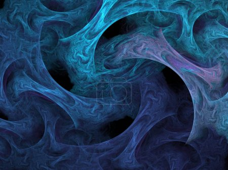 Photo for Abstract background, colorful smoke - Royalty Free Image