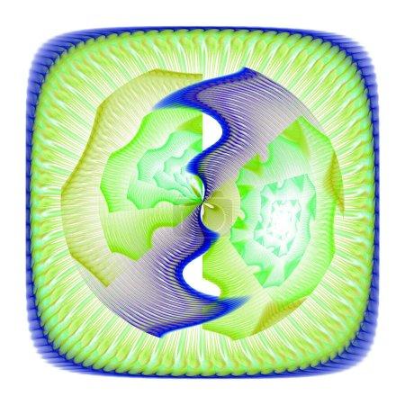 Photo pour Illustration fractale abstraite pour la conception créative - image libre de droit