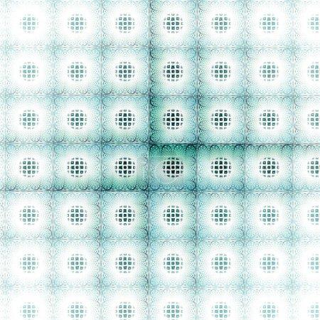 Photo pour Motif sans couture avec des formes géométriques. illustration vectorielle. - image libre de droit