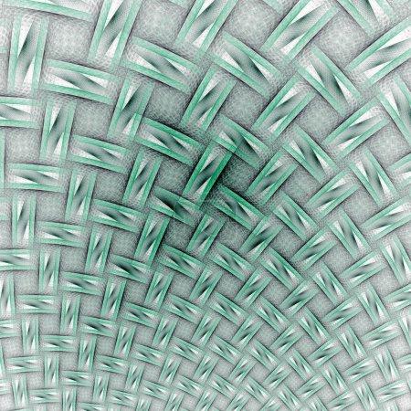 Photo pour Texture de feuille verte tissée - image libre de droit