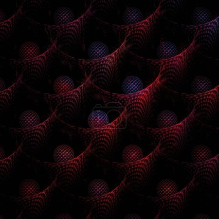 Photo for Abstract fractal background. vector illustration. - Royalty Free Image