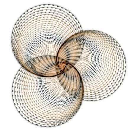 Photo pour Chapeau de paille isolé sur blanc - image libre de droit