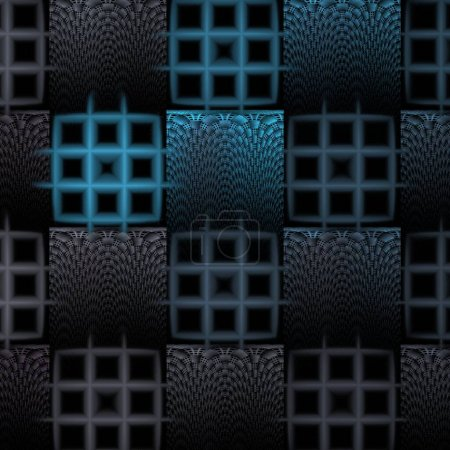 Photo for Abstract background with black and white pattern - Royalty Free Image