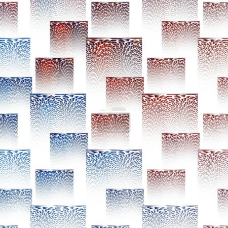 Photo for Abstract background with geometric pattern - Royalty Free Image
