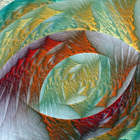 Photo for Abstract fractal background. computer generated graphics. - Royalty Free Image
