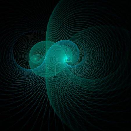 Photo pour Fond fractal abstrait. illustration vectorielle - image libre de droit