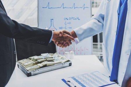 Handshake of Doctor.