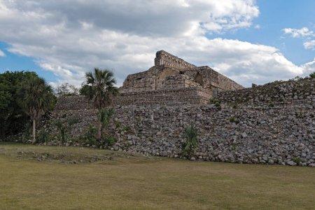 The ruins of the ancient Mayan city of Kabah, Yucatan, Mexico.
