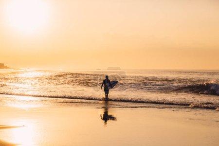 Keramas, Bali, Indonesia - May 31, 2018: Competition WSL Corona Bali Protected. Professional surfers