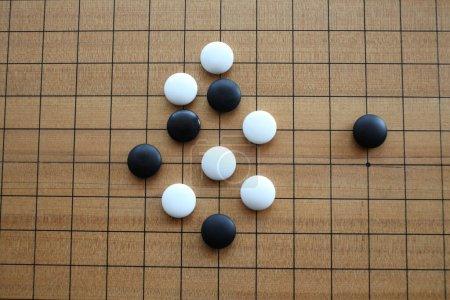 Photo pour Jeu de table Gomoku, go-ishi - image libre de droit