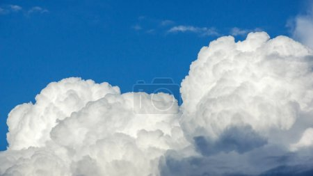 Photo for White cloud on a blue sky for a background. - Royalty Free Image