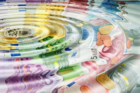 Money laundering, symbolic representation...