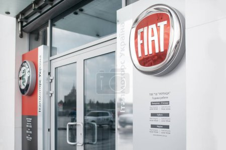 Picture of Fiat dealer store