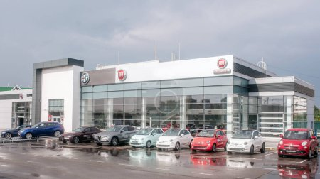 Picture of Fiat dealer salon