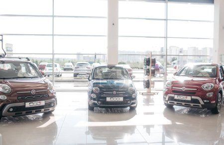 Picture of three nice Fiat