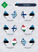 All games of Estonia in football nations league