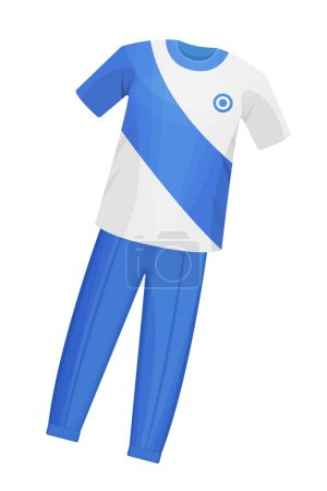 Sports playing training clothes for