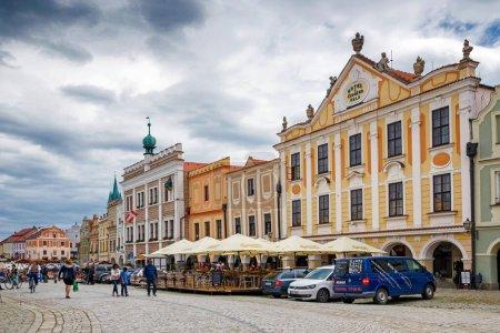 Photo pour Telc, Hotel U cerneho orla, Czech Republic - image libre de droit