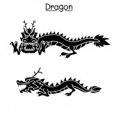 Dragon vector   illustration graphic design