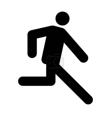 Runner Flat Vector Icon