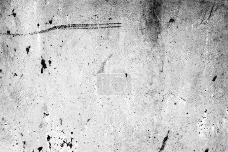 Foto de Textura de una pared metálica con grietas y arañazos que se puede utilizar como fondo - Imagen libre de derechos
