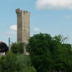 Medieval  crenellated Tower of Visone Alessandria ...