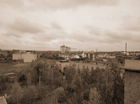 Photo for The view from the window to the city - Royalty Free Image