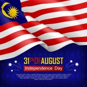 Festive illustration of Independence day