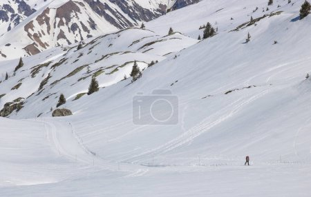 Photo for High mountain landscape in the alps in winter - Royalty Free Image