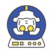 Gaming accessory color icon