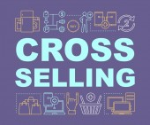 Cross-selling word concepts banner
