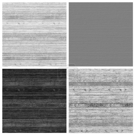 wood striped wall texture set